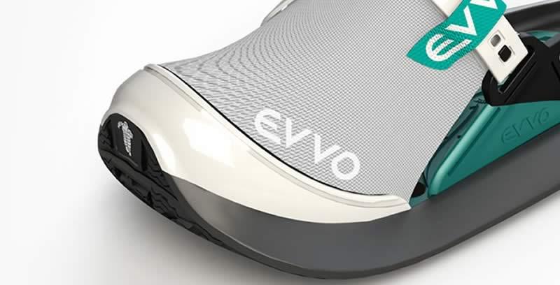 EVVO snowshoe confort thermique et acoustique