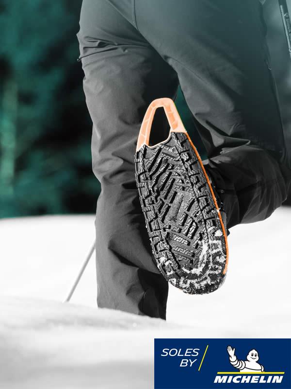 Raquette à neige EVVO Snowshoe - Semelle Michelin